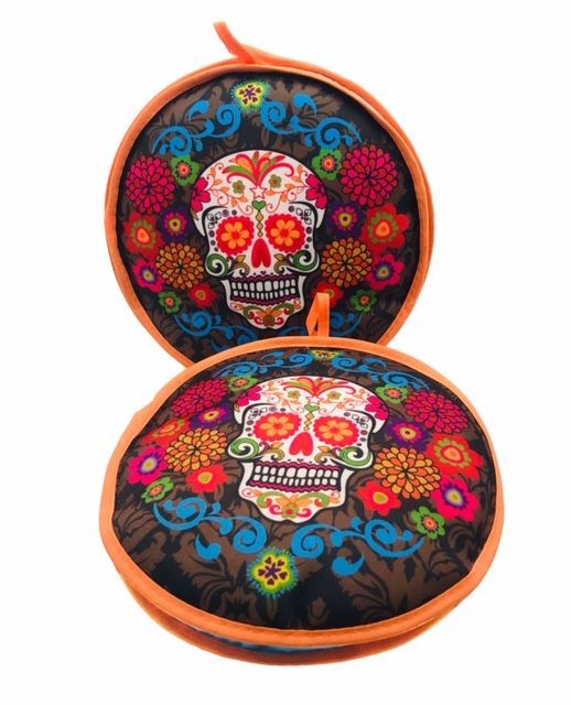 Tortilla Warmer - Day of the Dead Sugar Skull