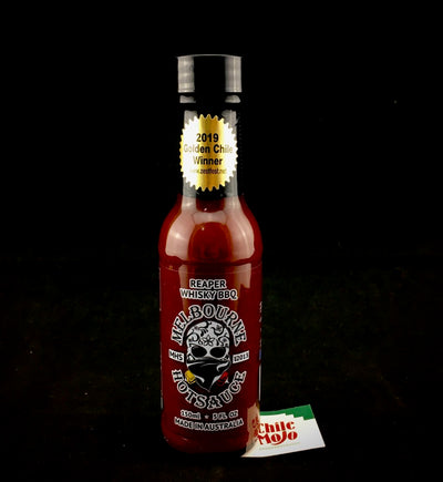 Melbourne Hot Sauce Reaper Whisky BBQ 150ml