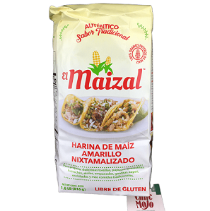 El Maizal (previously Minsa) YELLOW Corn Masa Flour 816gm