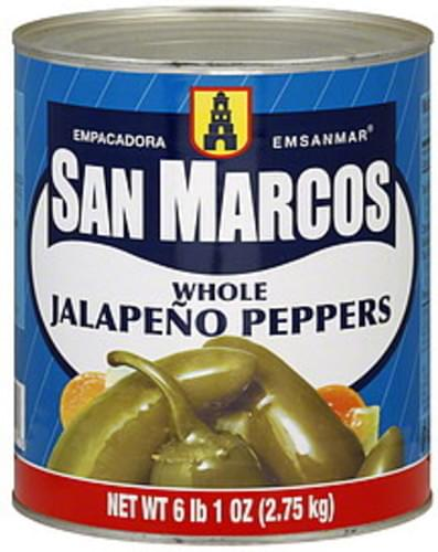 Faro Jalapeno whole canned 2.7kg (A10)