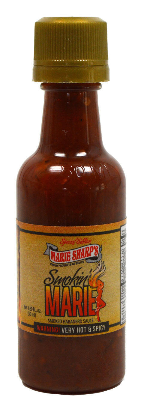 Marie Sharps Mini Smokin Marie Hot Sauce 50ml