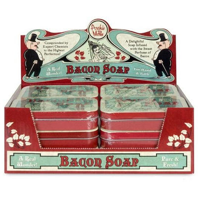 Bacon Soap in Decorative Tin