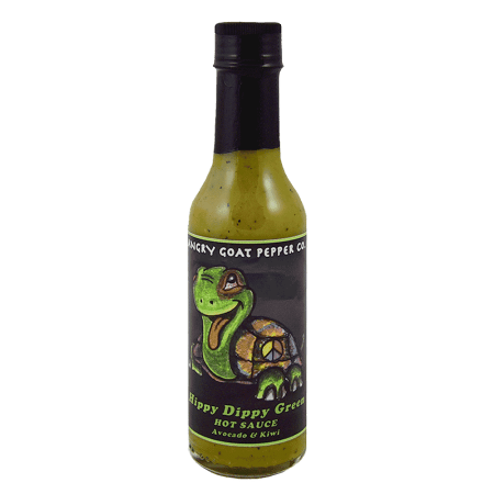 Angry Goat Hippy Dippy Green Hot Sauce 148ml (5oz)