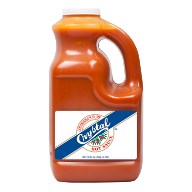 Crystal Hot Sauce - 1 Gallon (3.8lt)