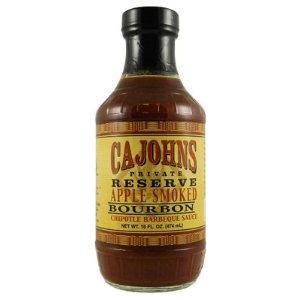 Cajohns Apple Smoked Bourbon Chipotle Barbecue Sauce (16oz) 474 ml