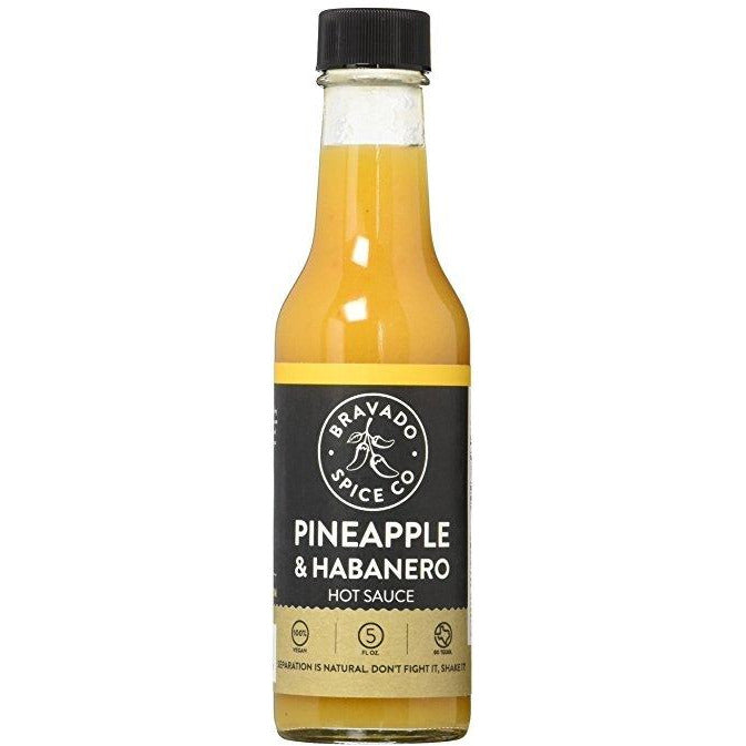 Bravado Spice Co. Pineapple Habanero Hot Sauce 148ml (5oz)
