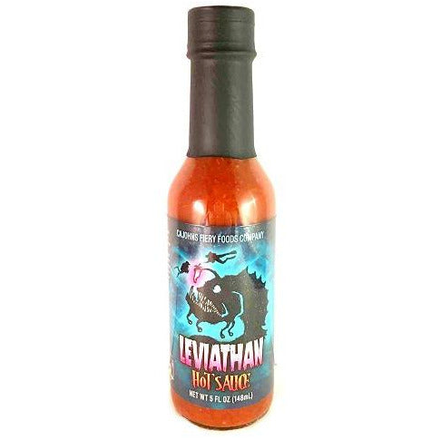 CaJohns Leviathan Hot Sauce (5oz) 148ml