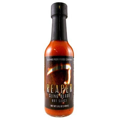 CaJohns Reaper Sling Blade Hot Sauce 148ml