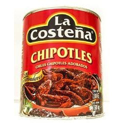 Chiles Chipotle La Costena A10