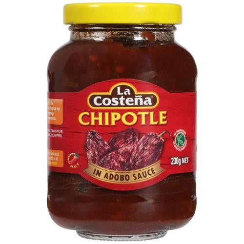 Chiles Chipotle en adobo La Costena JAR
