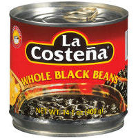 Beans La Costena Black Whole 400gm
