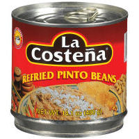 Beans La Costena Pinto Refried 400gm