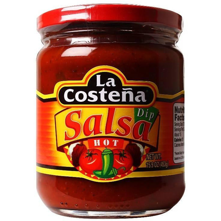 La Costena Salsa Dip HOT 453gm
