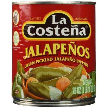 Chiles Jalapeno Whole La Costena A10