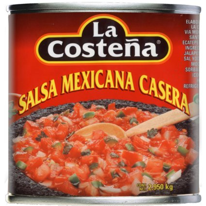 Salsa Mexicana Rojo (red) La Costena A10 (2.95kg)