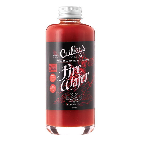 Culleys Firewater Hot Sauce 150ml