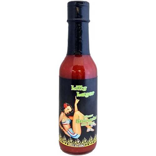 Lilly Lager Pilsner Hot Sauce 148ml (5oz)