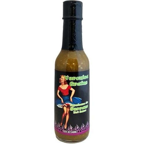 Veronica Grains Serrano Hot Sauce 148ml (5oz)