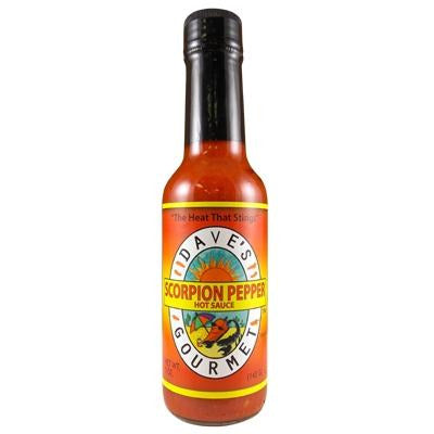 Daves Scorpion Hot Sauce 148ml