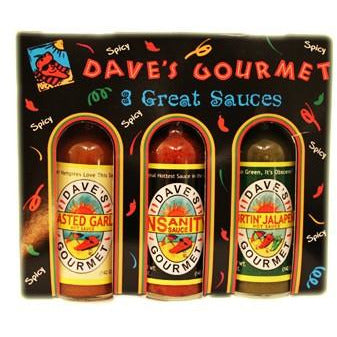 Daves Spicy Three Pack (3 x 148ml)