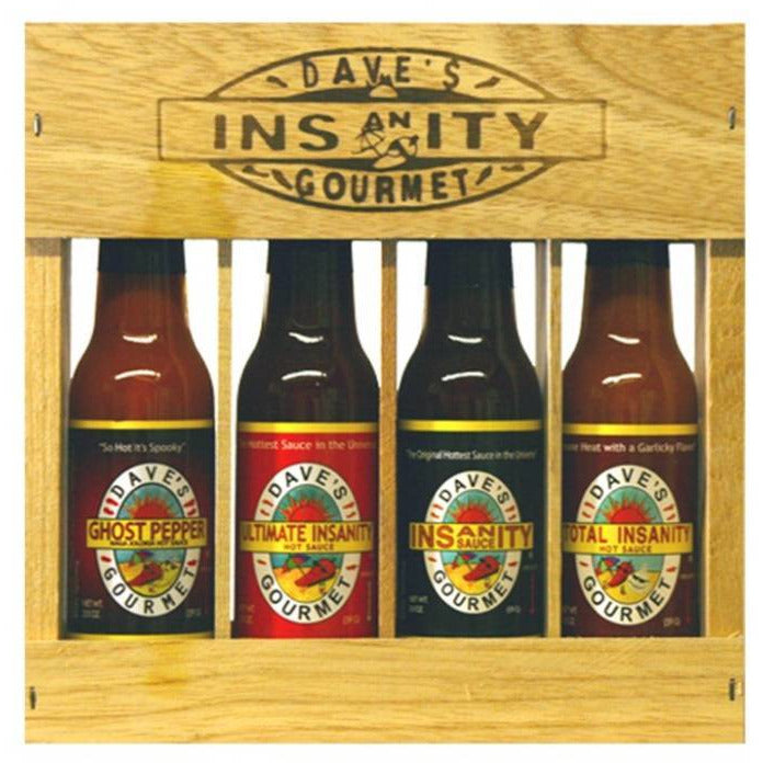 Daves Four Pack Super Hot - 4x 148ml bottles