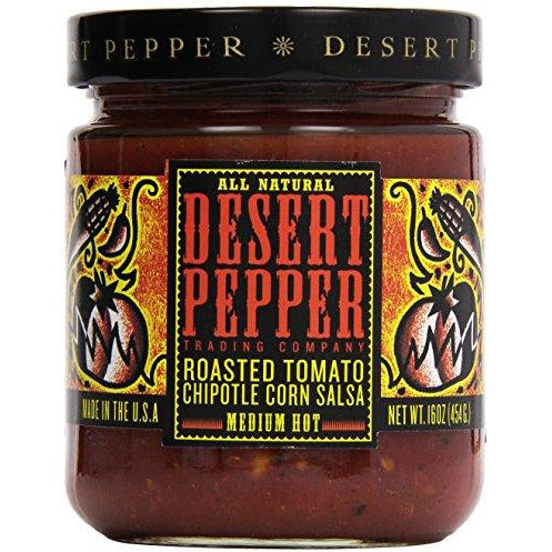 Desert Pepper Chipotle Corn Salsa