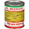 El Mexicano whole green chiles 765gm