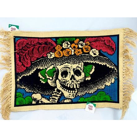 La Catrina cotton placemats