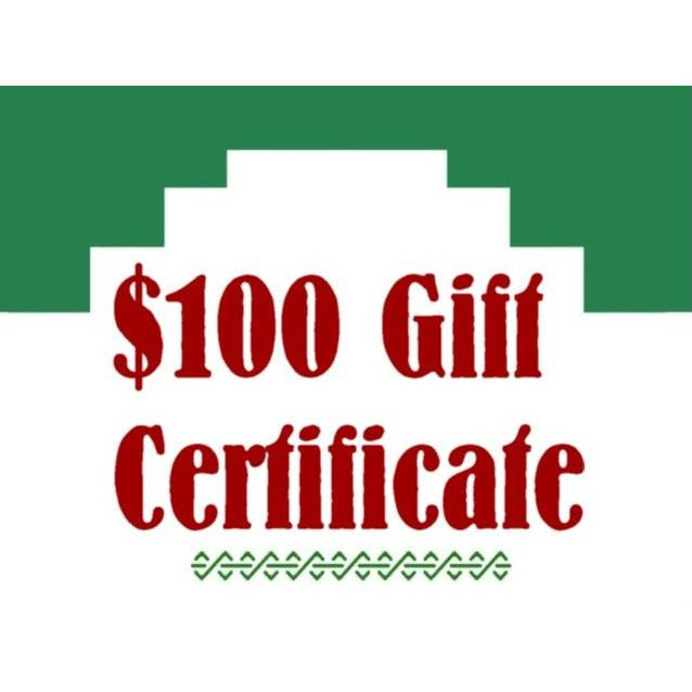 Chile Mojo Gift Certificate - $100