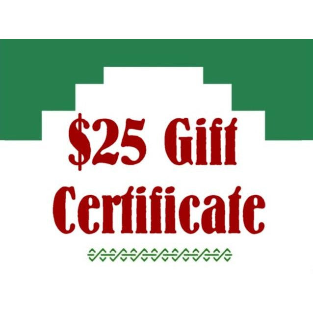 Chile Mojo Gift Certificate - $25