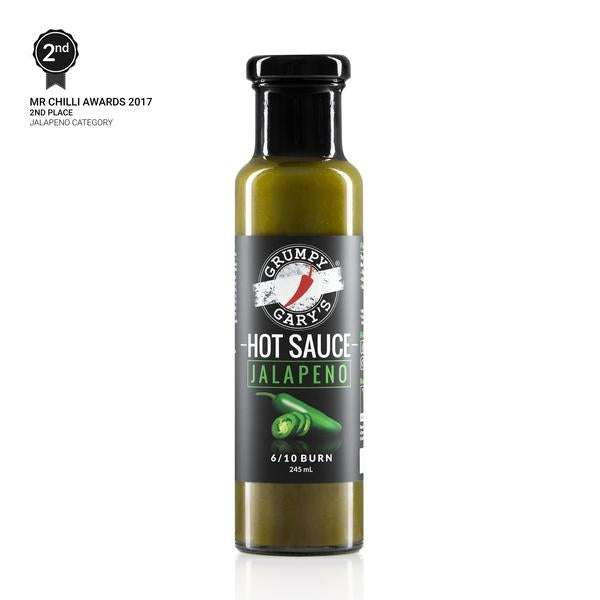 Grumpy Gary Jalapeno Hot Sauce 250ml