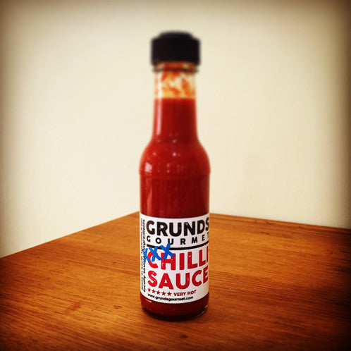 Grunds XXX Hot Sauce 150ml