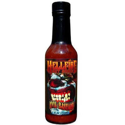 Hellfire Evil Bastard Hot Sauce 5oz (148ml)