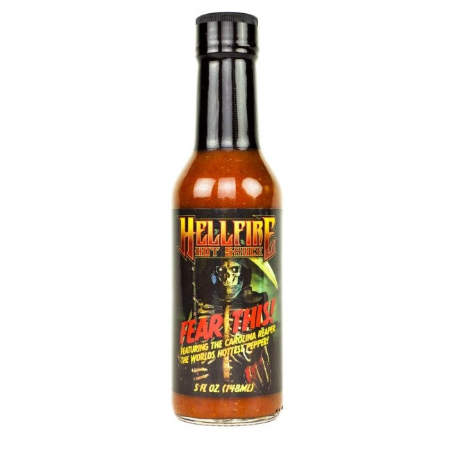Hellfire Fear This! Reaper Hot Sauce 5oz (148ml)