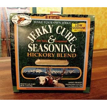 Hi Mountain Jerky Cure and Seasoning - Hickory Blend