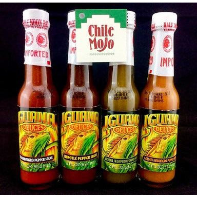 Iguana Mini Sauces - set of 4