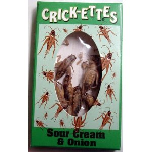 Hotlix Crickettes Sour Cream snack
