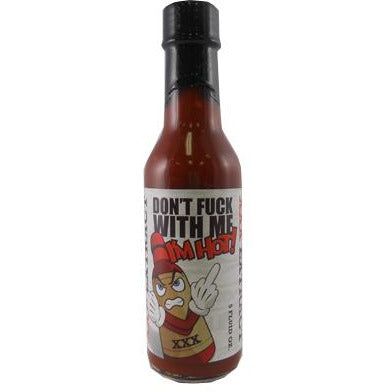 Dont Fuck with Me Hot Sauce