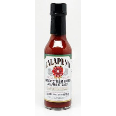 Kentucky Straight Bourbon Jalapeno Hot Sauce