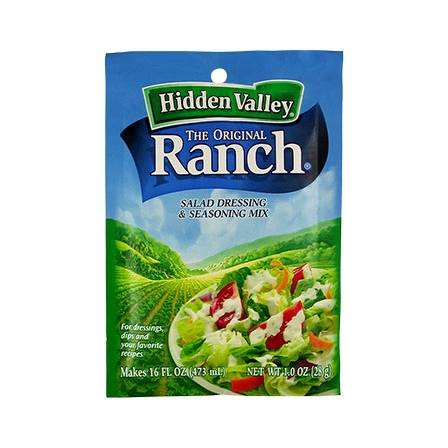 Hidden Valley Ranch Salad Dressing & Seasoning Mix 28gm