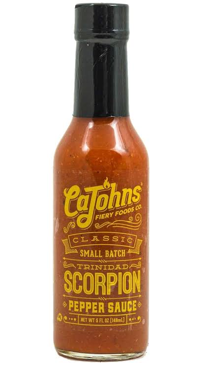CaJohns Small Batch Classic Trinidad Scorpion 5oz (148ml)