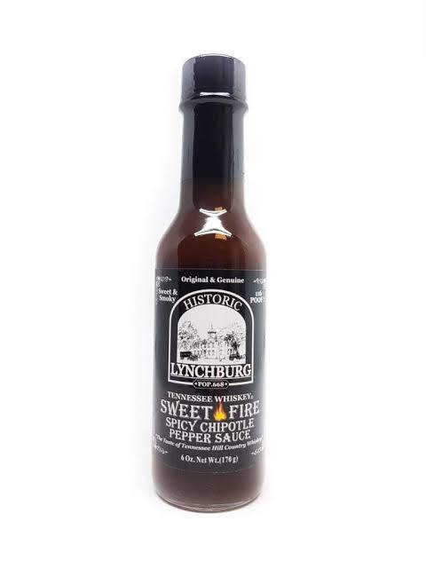 Historic Lynchburg Sweet Fire Spicy Chipotle Sauce 148ml
