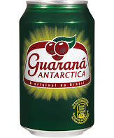 Guarana Antarctica soda de Brazil 330ml