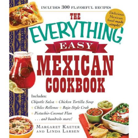 Book - Everything Easy Mexican Cookbook