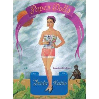 Book - Frida Kahlo Paper Dolls