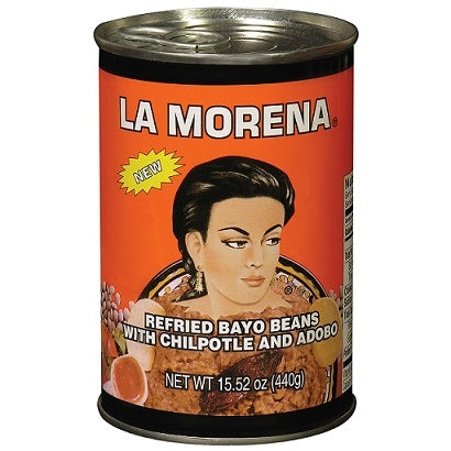 Beans La Morena Refried Pinto with Chipotle and Adobo 440gm
