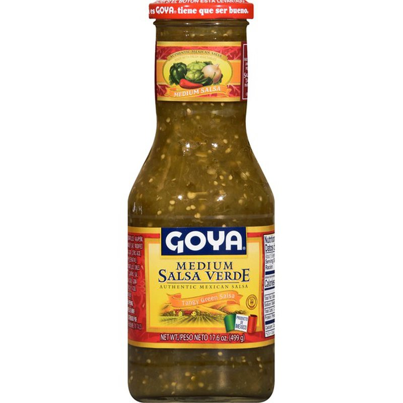 Goya Green Salsa Verde 498gm