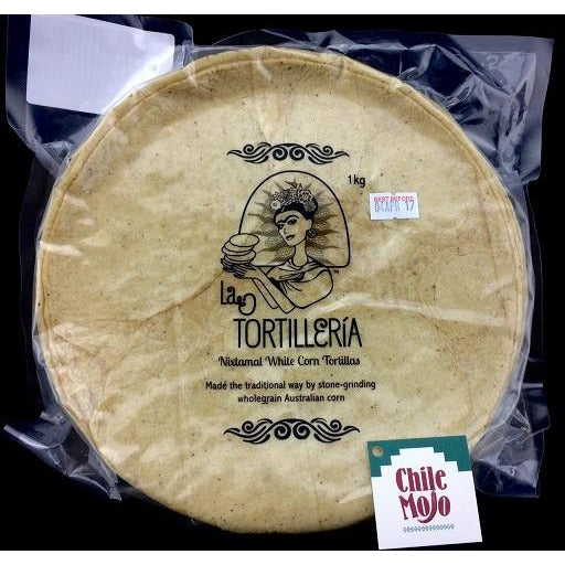 La Tortilleria Corn Tortillas 20cm - 50 count