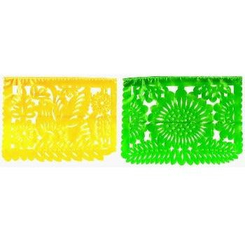 Papel Picado banner - Traditional paper  mid-size PPLT01