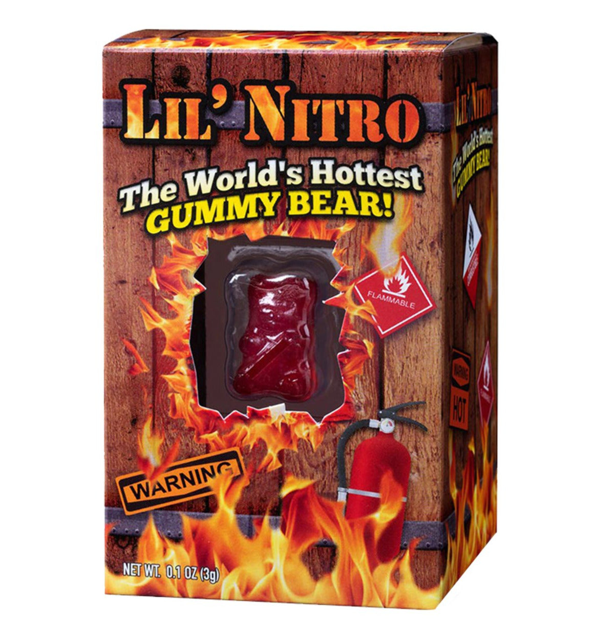 Lil Nitro - The Worlds Hottest Gummy Bear
